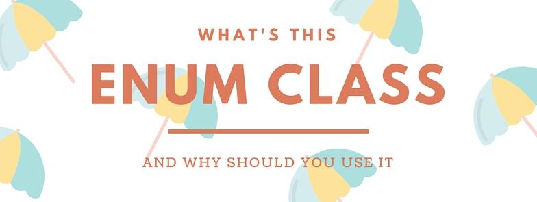 Enum class